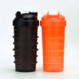700ml d'impression de logo de bouteille de shaker, bouteille de joyshaker en plastique, bouteille de shaker de protéines