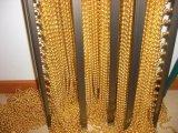 금속 사슬 구슬 끈 아름다운 분배자 커튼