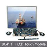 Monitor de SKS de toque resistivo de tela de 10,4 polegadas com interface USB
