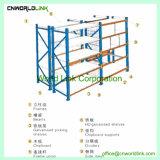 Entrepôt de rack en acier robuste avec panneau