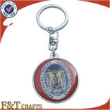 卸し売り昇進のハンドメイドの金属のカスタム写真Keychain (FTKC1764A)