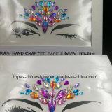 Китай кожи поставщика безопасных Сторона наклейки глаз белого цвета шпильки органа ювелирных изделий с Tatto наклейки (E01)