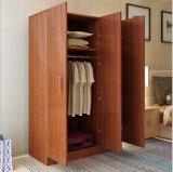 工場直接寝室の家具3のドアの戸棚の木のワードローブ