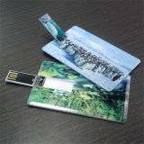Forme de carte de crédit USB USB Image Drives-Custom