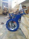 Aço inoxidável Válvula Borboleta com atuador pneumático Fabricante