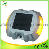 Indicatore infiammante solare di alluminio riflettente della strada di IP68 LED