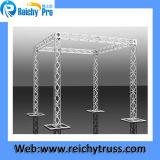 Ферменная конструкция освещения Spigot Hotsale алюминиевая, ферменная конструкция этапа, ферменная конструкция крыши