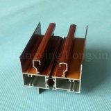 Frame de alumínio da cópia de madeira para o indicador de deslizamento