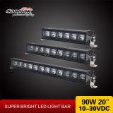 20 barra ligera alta-baja legal de la viga LED del en-Camino de la pulgada 90W