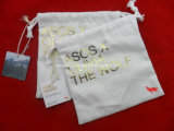 Tejido de pequeñas joyas personalizadas bolsas de nylon