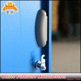 Jas-031 Grau superior do guarda-roupa de metal mobiliário do Gabinete para a escola de escritório