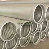 """7-5/8 """"ジョンソンスクリーンと指名される井戸水フィルターのためのステンレス鋼のウェッジワイヤースクリーンの管"""