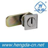 Утопленный монтаж цилиндра Cam Lock (YH9807)