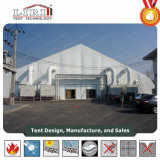 40X100m изогнутые выставки палатка с системой переменного тока для торговой ярмарки