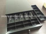 Caixa resistente do dinheiro com os 5 compartimentos de Bill e as 5 bandejas removíveis da moeda (JY-405B)