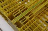 Lytw-1210B paletes de plástico fechado da Base de serviço médio 1200X1000 com carro 2200 lb