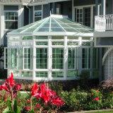 Casa de cristal de la flor de aluminio, Sunroom, sombrilla (parada total transitoria)