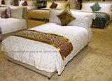 Fournisseurs de linge d'hôtel Luxe confortable canapé 100% coton 400tc 60s / 80s Plain / Jacquard /