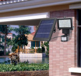 Projecteur solaire de 60 DEL pour le jardin avec le détecteur de mouvement de PIR