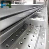 Prancha do andaime/plataforma de aço galvanizadas 250*50*2000 do metal para a construção