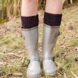 Socken-Hersteller Wholesale kundenspezifische Form Frauen-Kleid-Socken