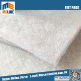 L'aiguille de polyester blanc perforé feutrine pour l'intérieur de matelas