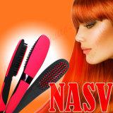 Brosse à cheveux de cheveux Nasv originale avec affichage à cristaux liquides