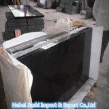 Lastre/mattonelle nere del granito dello Shanxi delle lastre naturali Polished