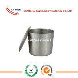 Crisol de níquel puro 100ml de la corrosión de alta temperatura Cricible