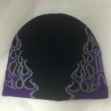 昇進デザインジャカード冬によって編まれる帽子