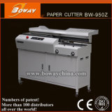 Bindende Machine van het Boek van de Smelting van de Lijm van de Klem van het Document van Boway 300books/H A4 de Auto Hete Zelfklevende Perfecte