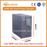 o sistema de energia solar da fora-Grade 5000W é fonte para o console do platô e uma área montanhosa remota