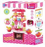 Küche-pädagogisches Plastikhaus-Spiel-Set Kind-Spielwaren