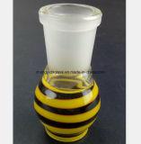 Accessori di vetro della coppa per basamento del tubo del narghilé 14.5mm, bocca femminile di 18.8mm