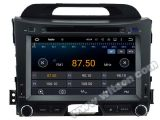 Carro DVD GPS do Android 5.1 de Witson para KIA Sportage R2011 com sustentação do Internet DVR da ROM WiFi 3G do chipset 1080P 16g (A5743)