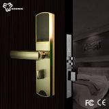 Système électromagnétique de verrou de trappe d'hôtel d'IDENTIFICATION RF en alliage de zinc intelligente
