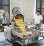 Chauffage au gaz Popcorn Maker / rond Caramel Machine pop-corn de champignons