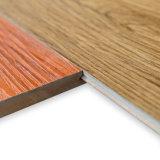 Wasserdichter flammhemmender 9.5mm WPC Vinylbodenbelag des Fertigstellungs-Material-100%