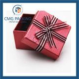 Roter Qualitäts-Schmucksache-Verpackungs-Kasten (CMG-PJB-025)