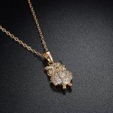 De Halsband van de Tegenhanger van dame Fashion Jewelry Cubic Zircon Uil