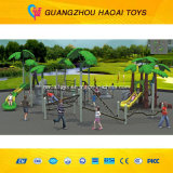Cimbing Wall (A-15062)를 가진 대중 적이고 & Safe Outdoor Playground Equipment