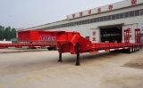 Preiswerte Wellen-niedriger Bett-LKW-Schlussteil des Preis-5 100 Tonnen für falschen Straßenzustand-Schlussteil