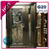 Portello dell'acciaio inossidabile del metallo con testo fisso di verniciatura in SUS304 (ES-7012S)