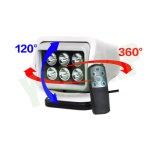 30W 7 pouces LED à distance sans fil Search Light avec CREE LED
