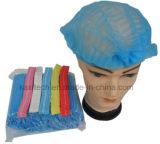 医学および食品加工のための使い捨て可能な非編まれた暴徒の帽子