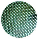 Bovenkant van het Meubilair van het Restaurant van de Bovenkant van de Lijst van het roestvrij staal de Openlucht
