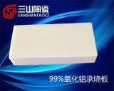 Piastrina a prova di proiettile del Sinterizzare-Cuscinetto della ceramica del mattone dell'allumina di 99%
