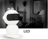 intelligente WiFi IP-Kamera 720p HD Roboter IR-P2p