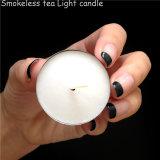 candela bianca bruciante di 4hrs Tealight fuori dallo sconto