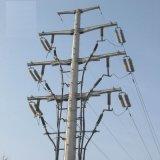 230kv Heiß-EINTAUCHEN-Galvanisierte Verteilungs-Winkel-Baustahl-elektrische Pole-Querarm-Übertragungs-Zeile galvanisierten Röhrenaufsatz